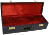 GPC-1031. Bagpipe Wooden case with clasps, handle and felt interior. Use for storage and transport of pipes.