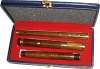 GPC-1043. Irish Flute, Rose wood with Case.