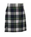 DRESS GORDON TARTAN, Hand made, 8 yards on material, 70% wool 30% synthetic wool,