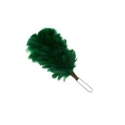 GPC-1074/k.  Dark Green 4 Inch Feather