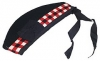 Highland Glengarry, Diced, black color, red, black & white dicing with red or black pom pom, any Size.